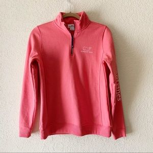 Vineyard Vines Pink Whale Logo Shep Shirt Pullover